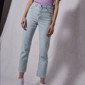 NWOTs TOPSHOP BOUTIQUE • Bleach Denim Jeans